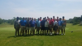 Annual Alumni Golf Outing Almost the whole group, missed a couple of guys who came later